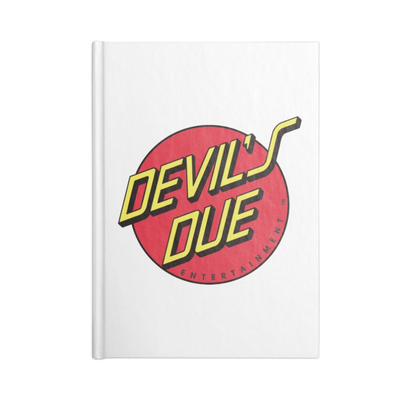 Devil's Due Cruz Accessories Blank Journal Notebook by Devil's Due Comics