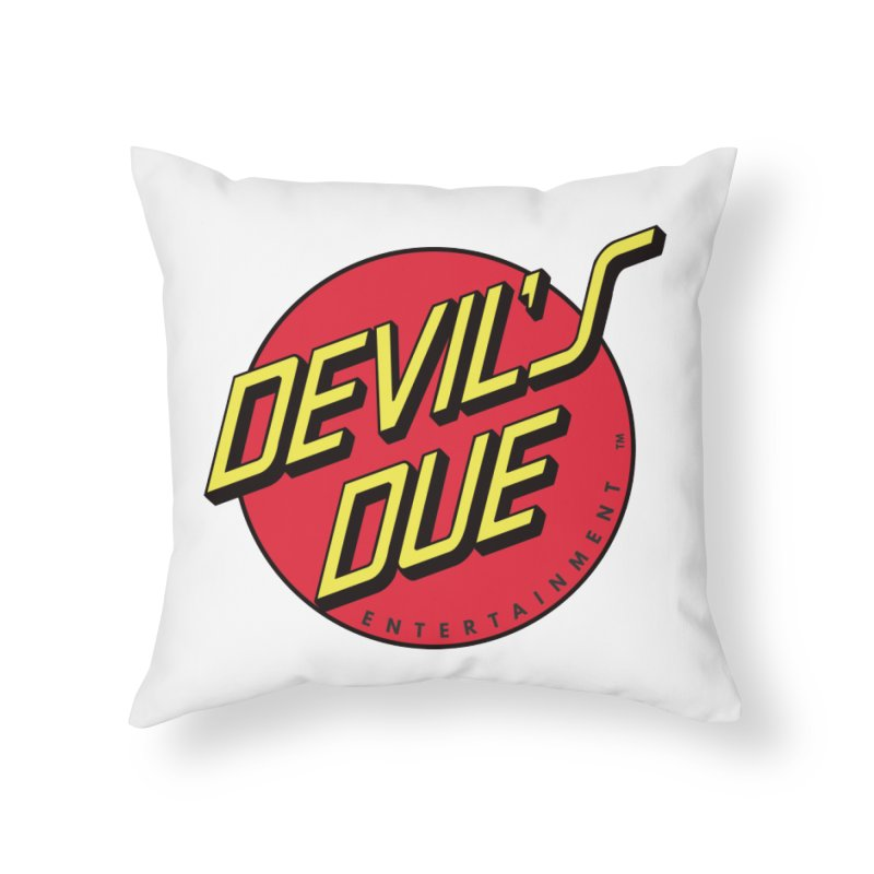 Devil's Due Cruz Home Throw Pillow by Devil's Due Comics