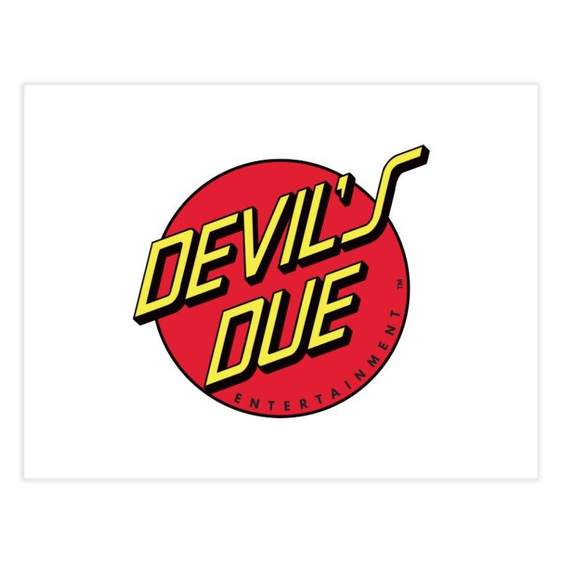 Devil's Due Cruz Home Fine Art Print by Devil's Due Comics
