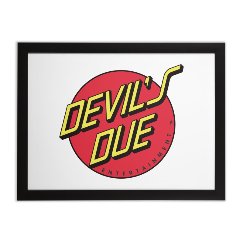 Devil's Due Cruz Home Framed Fine Art Print by Devil's Due Entertainment Depot