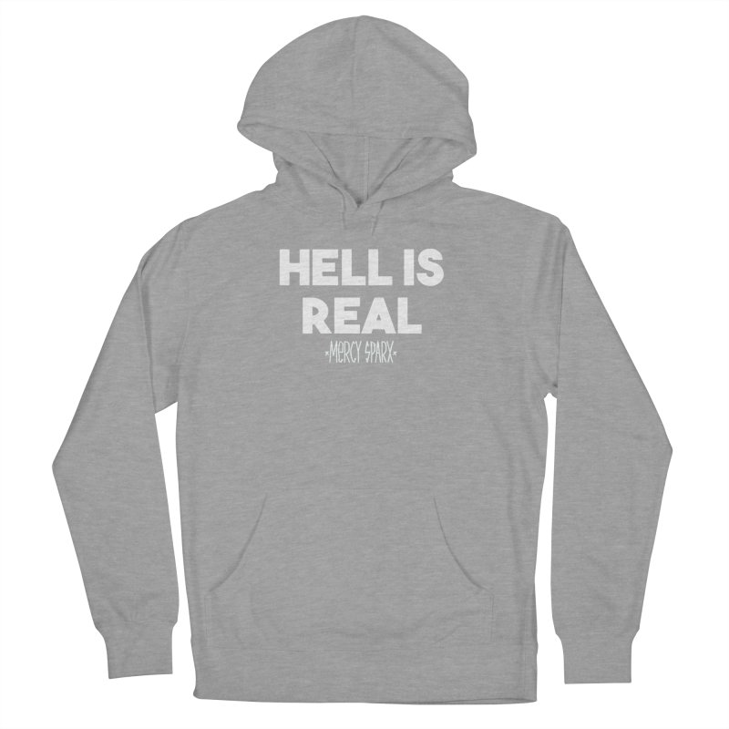 Hell is Real.  Women's French Terry Pullover Hoody by Devil's Due Comics