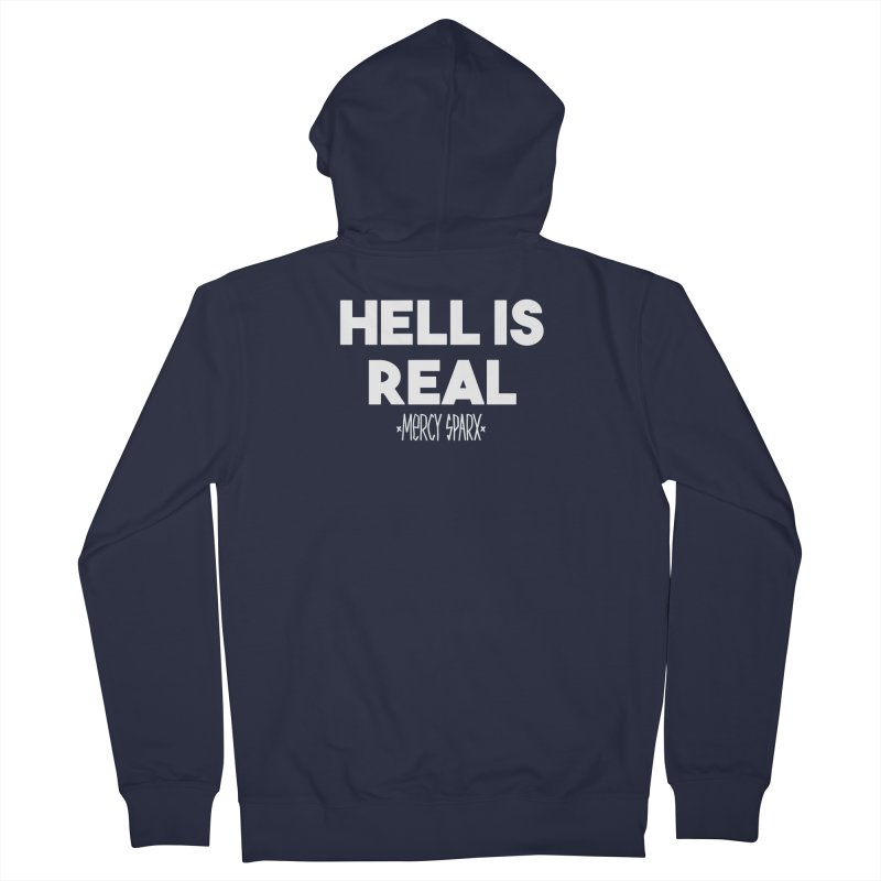 Hell is Real.  Women's Zip-Up Hoody by Devil's Due Comics