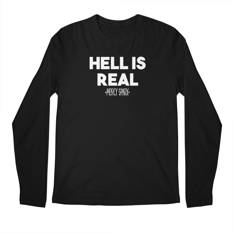 Hell is Real.  Men's Regular Longsleeve T-Shirt by Devil's Due Comics