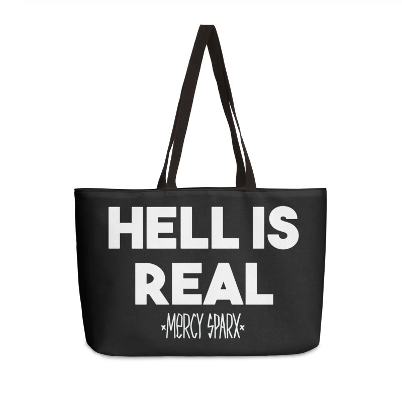 Hell is Real.  Accessories Weekender Bag Bag by Devil's Due Comics