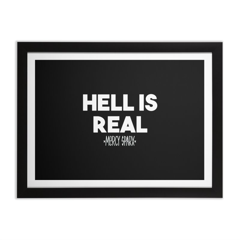 Hell is Real.  Home Framed Fine Art Print by Devil's Due Comics