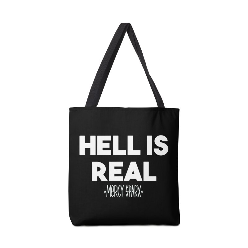 Hell is Real.  Accessories Tote Bag Bag by Devil's Due Comics