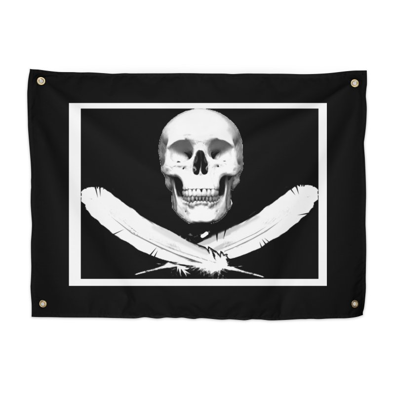 Mercy Sparx Jolly Roger Home Tapestry by Devil's Due Comics