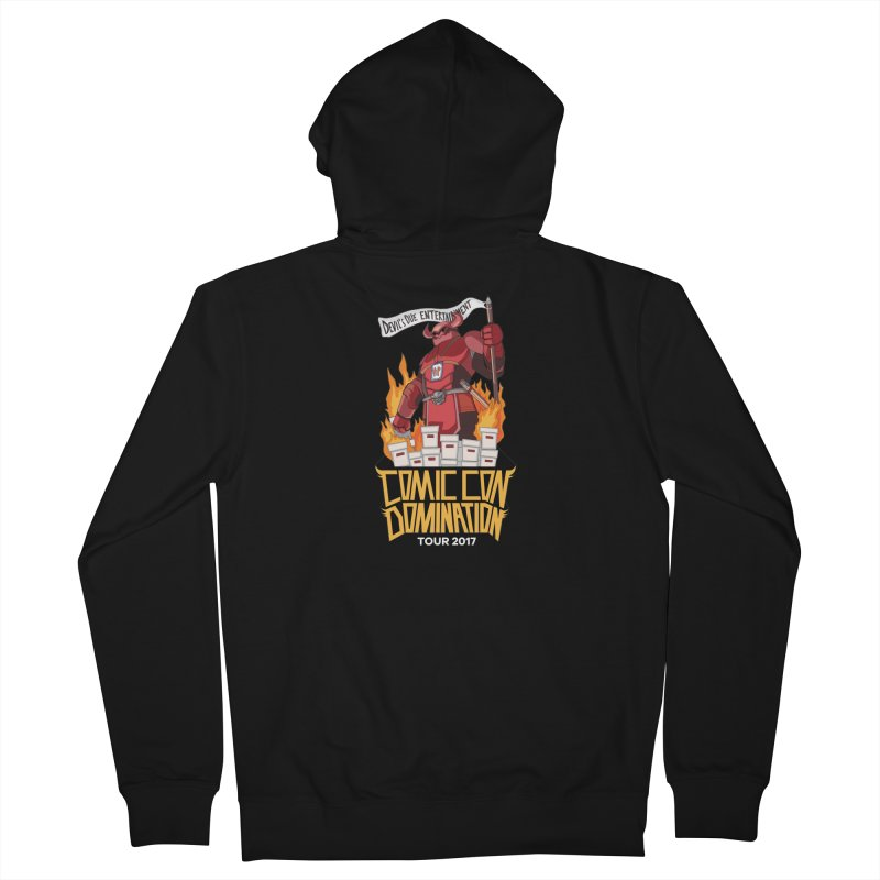 Condom 2017  Men's French Terry Zip-Up Hoody by Devil's Due Comics
