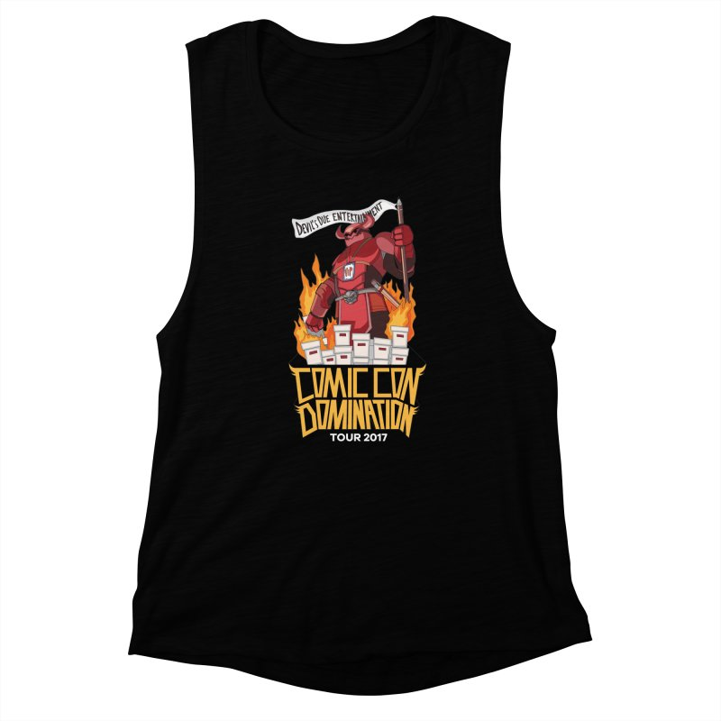 Condom 2017  Women's Muscle Tank by Devil's Due Comics