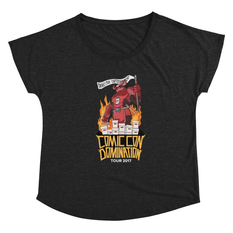 Condom 2017  Women's Dolman Scoop Neck by Devil's Due Comics