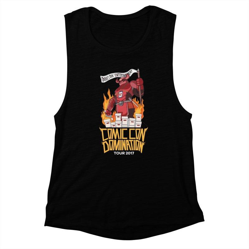 Condom 2017  Women's Muscle Tank by Devil's Due Comics