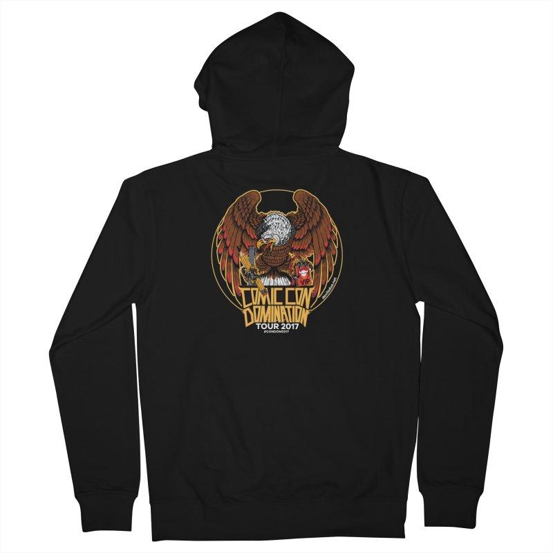 ConDom Eagle Men's Zip-Up Hoody by Devil's Due Comics
