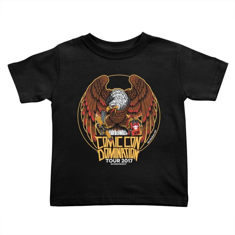 ConDom Eagle Kids Toddler T-Shirt by Devil's Due Comics