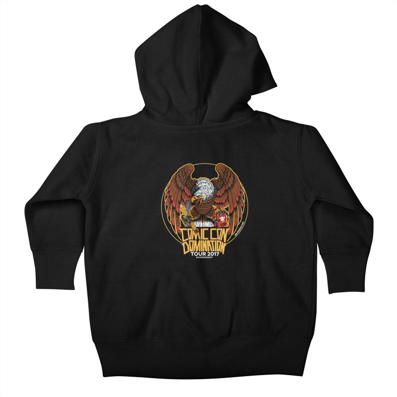 Condom Eagle  Kids Baby Zip-Up Hoody by Devil's Due Entertainment Depot