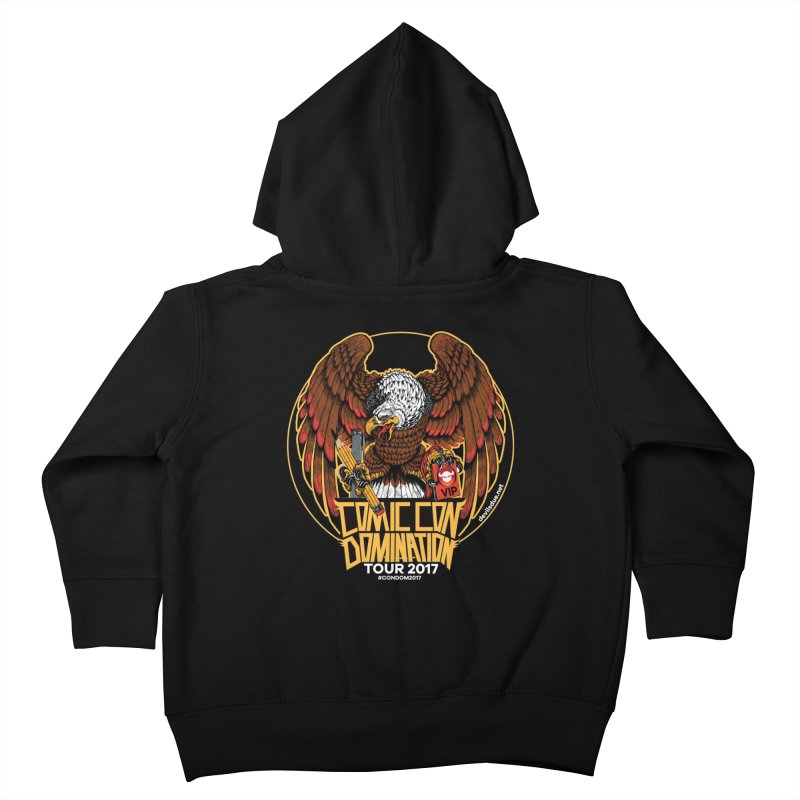 Condom Eagle  Kids Toddler Zip-Up Hoody by Devil's Due Entertainment Depot