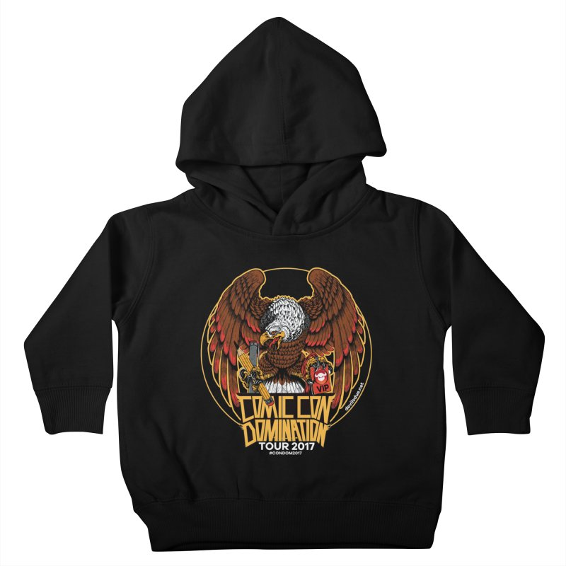ConDom Eagle Kids Toddler Pullover Hoody by Devil's Due Comics