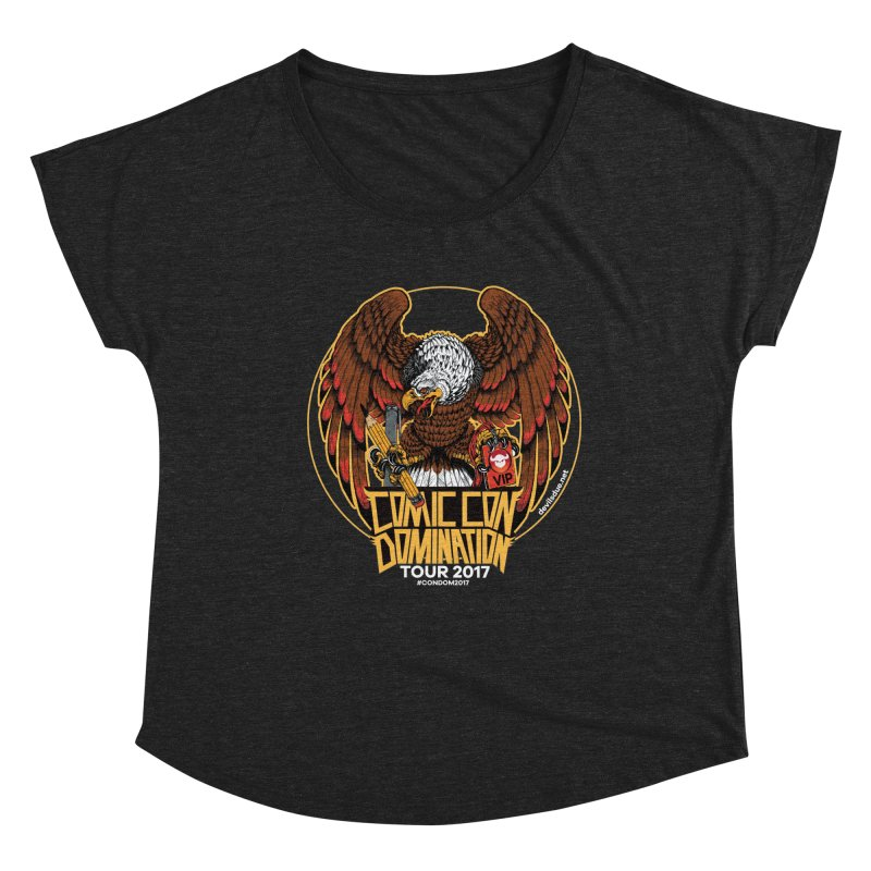 ConDom Eagle Women's Dolman Scoop Neck by Devil's Due Comics