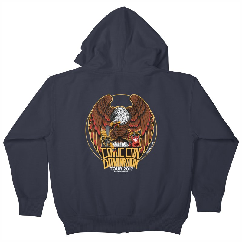 Condom Eagle  Kids Zip-Up Hoody by Devil's Due Entertainment Depot
