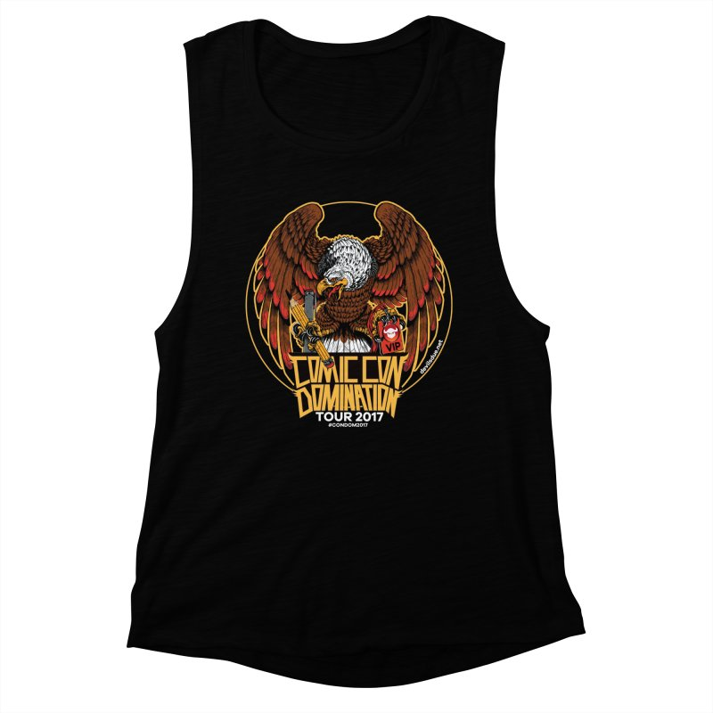 ConDom Eagle Women's Muscle Tank by Devil's Due Comics