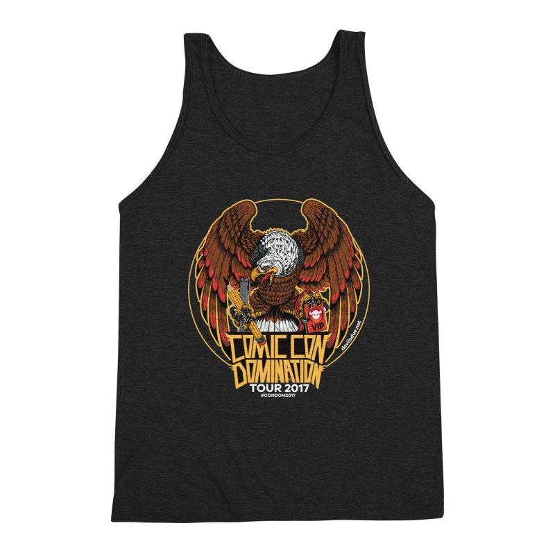 ConDom Eagle Men's Triblend Tank by Devil's Due Comics