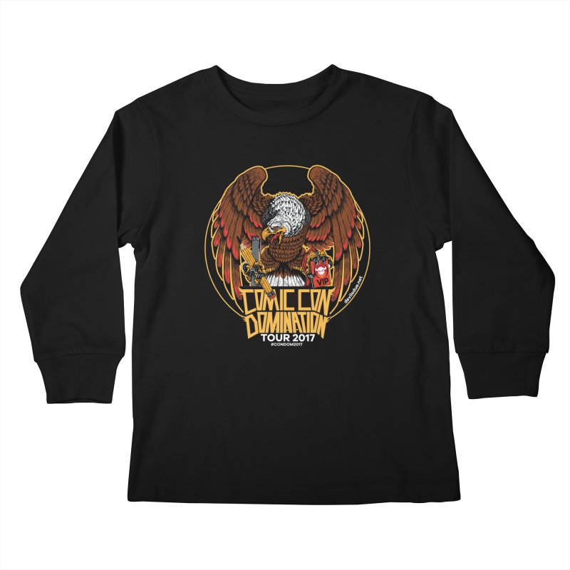 ConDom Eagle Kids Longsleeve T-Shirt by Devil's Due Comics