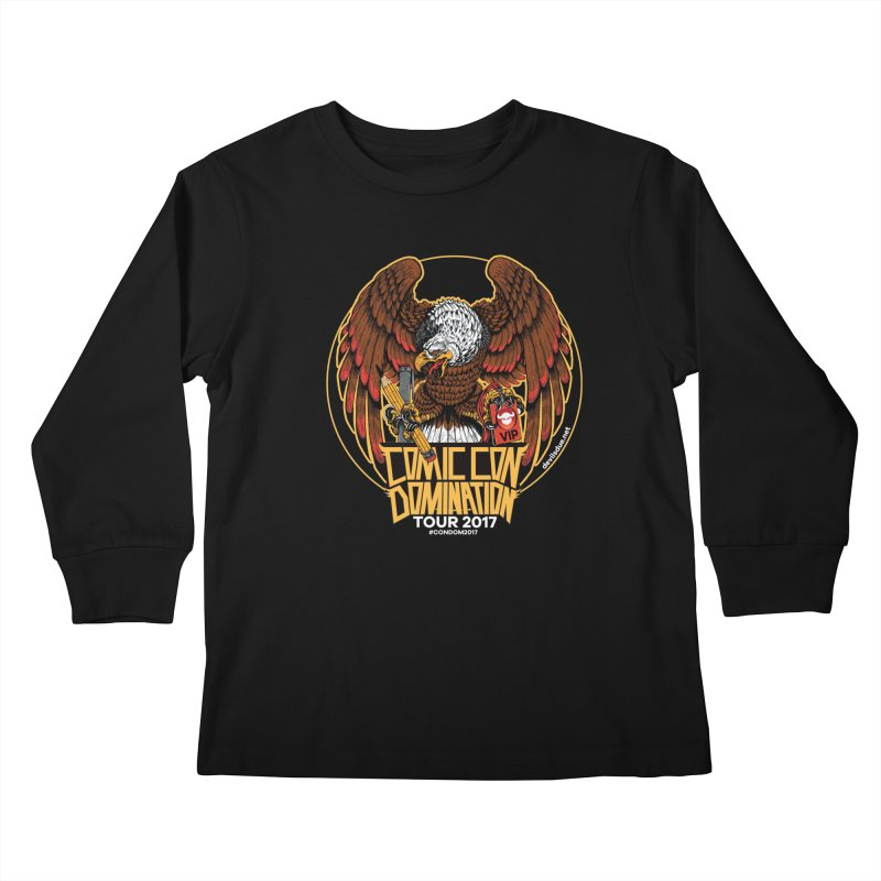 Condom Eagle  Kids Longsleeve T-Shirt by Devil's Due Entertainment Depot