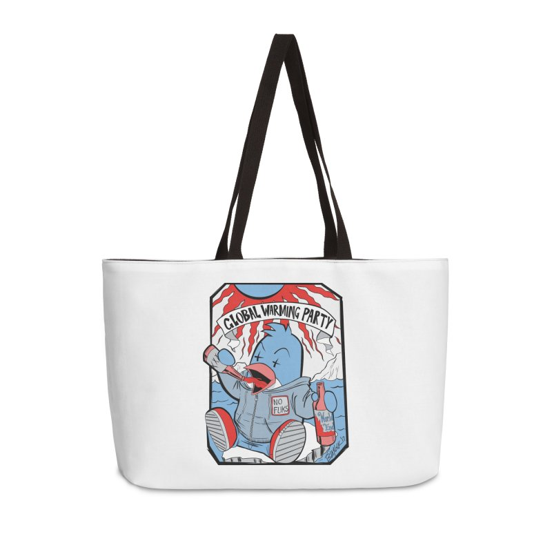 Global Warming Party Accessories Weekender Bag Bag by Devil's Due Comics