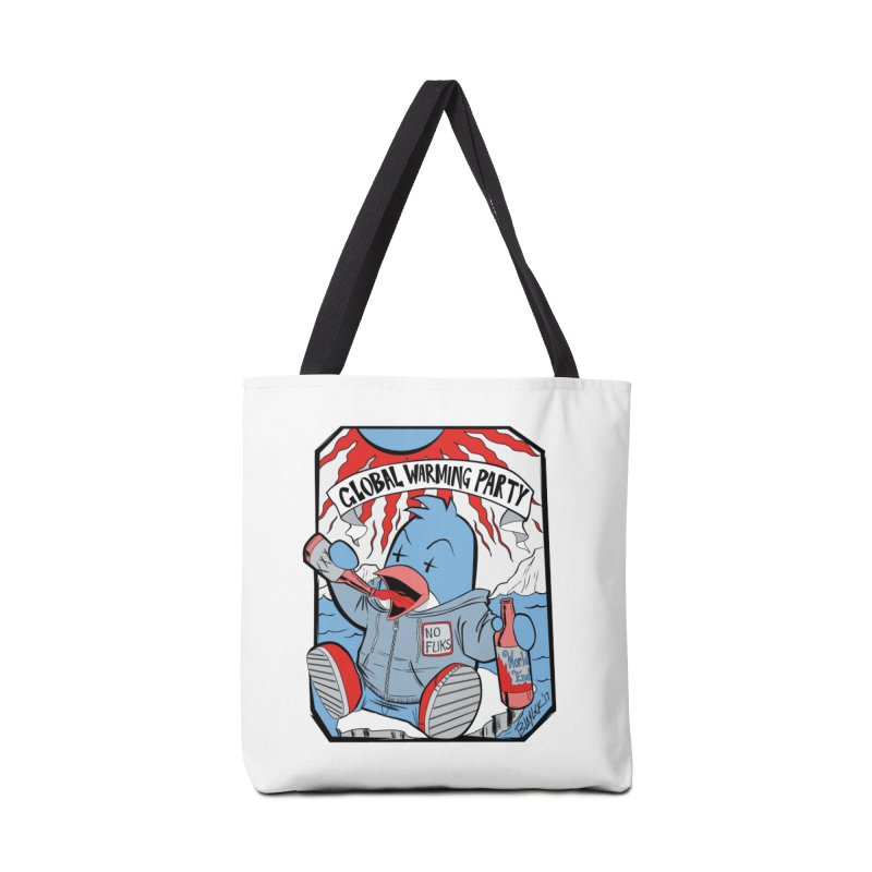 Global Warming Party Accessories Tote Bag Bag by Devil's Due Comics