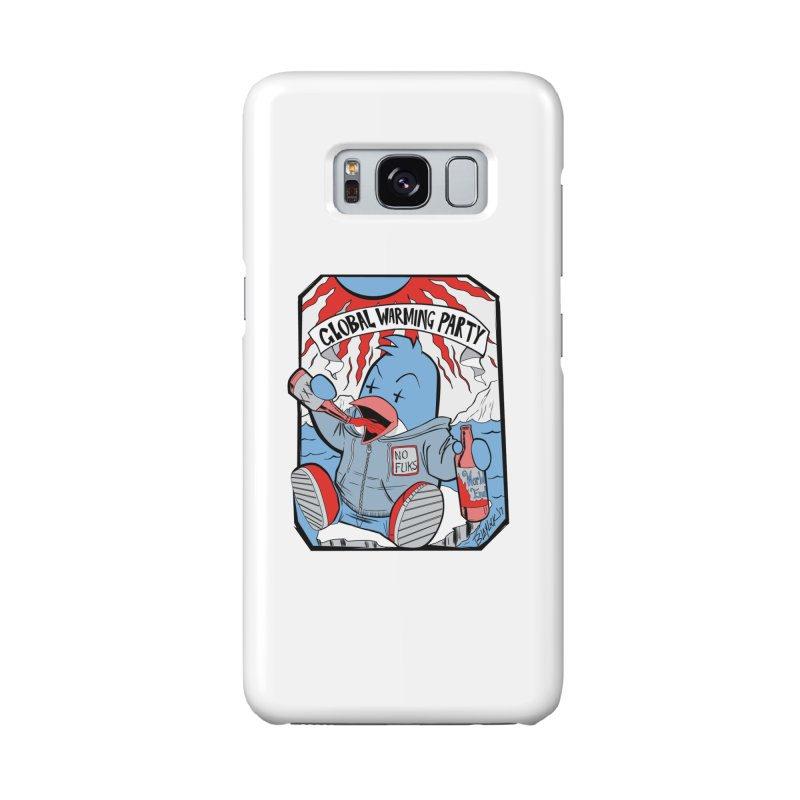 Global Warming Party Accessories Phone Case by Devil's Due Comics