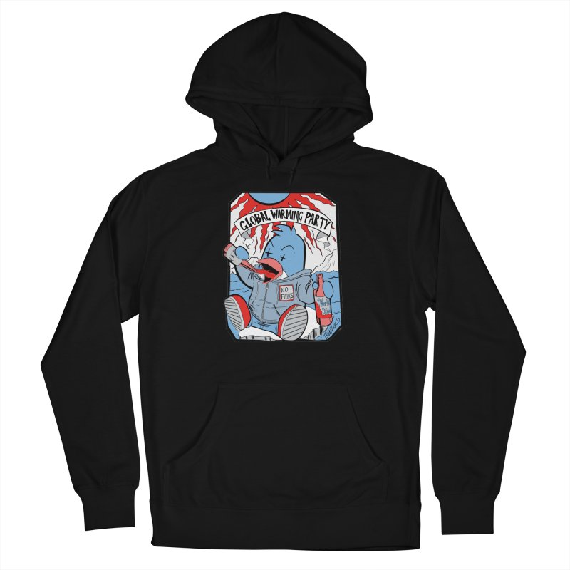Global Warming Party Men's Pullover Hoody by Devil's Due Comics