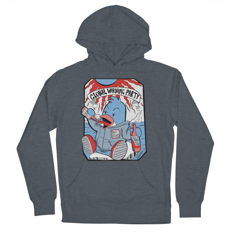 Global Warming Party Women's French Terry Pullover Hoody by Devil's Due Comics