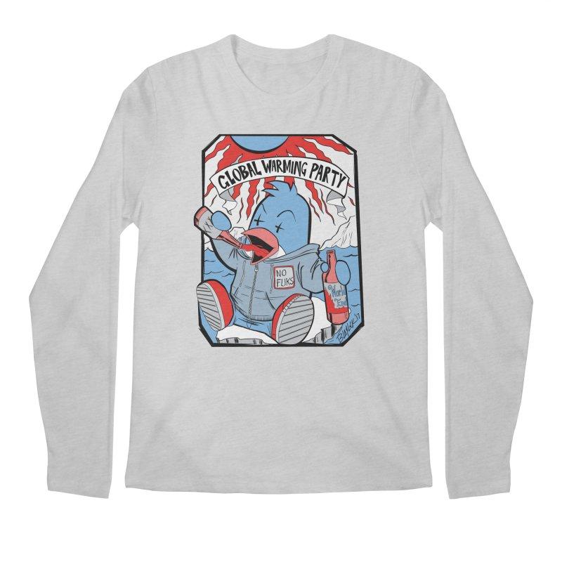 Global Warming Party Men's Longsleeve T-Shirt by Devil's Due Entertainment Depot