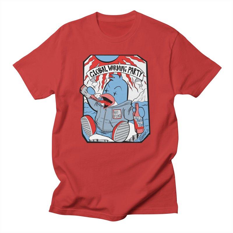 Global Warming Party Men's T-Shirt by Devil's Due Comics