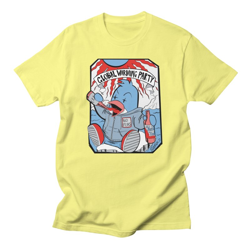 Global Warming Party Men's Regular T-Shirt by Devil's Due Comics