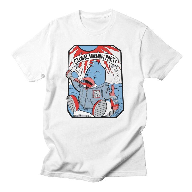 Global Warming Party Women's T-Shirt by Devil's Due Comics