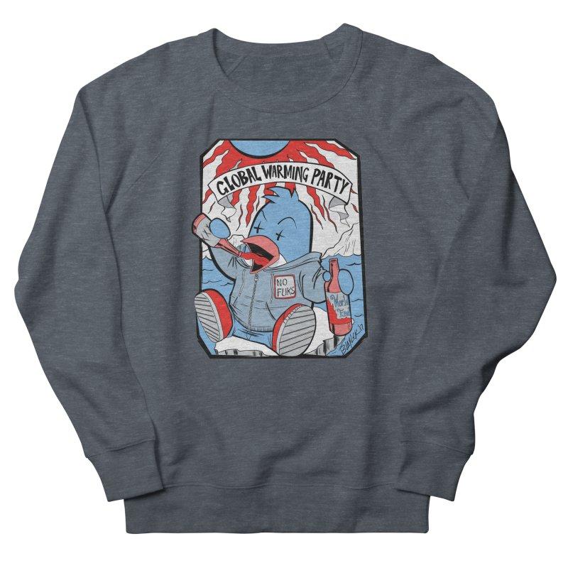 Global Warming Party Men's Sweatshirt by Devil's Due Comics