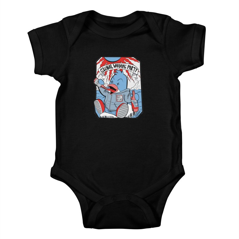 Global Warming Party Kids Baby Bodysuit by Devil's Due Comics