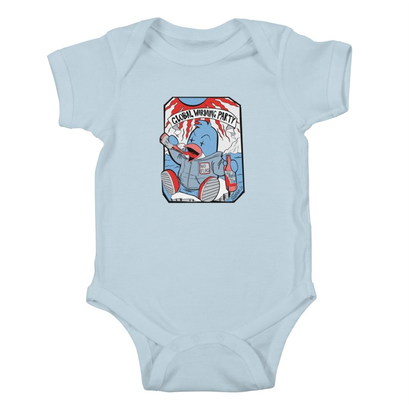 Global Warming Party Kids Baby Bodysuit by Devil's Due Entertainment Depot
