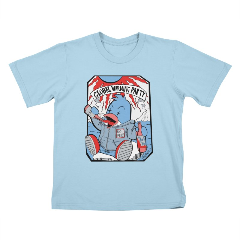 Global Warming Party Kids T-Shirt by Devil's Due Comics
