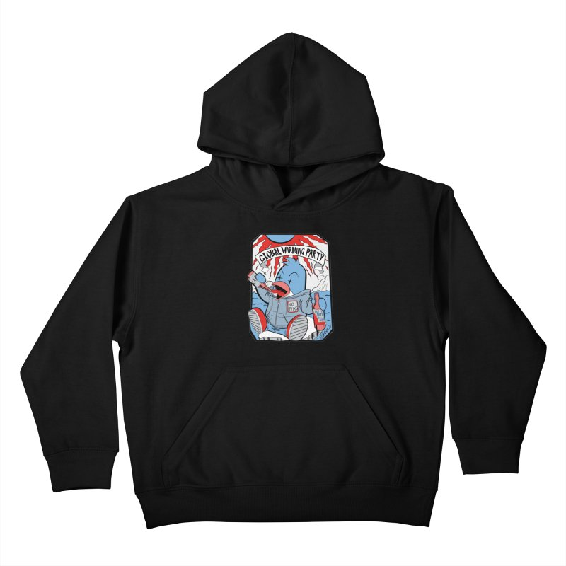 Global Warming Party Kids Pullover Hoody by Devil's Due Entertainment Depot