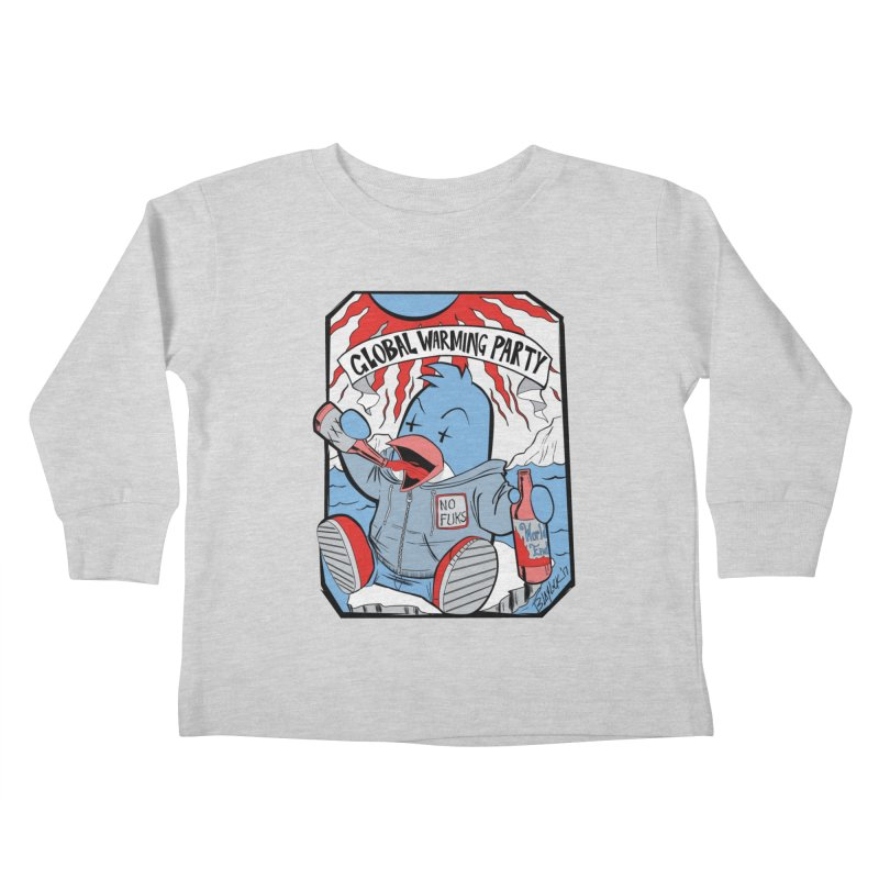 Global Warming Party Kids Toddler Longsleeve T-Shirt by Devil's Due Comics