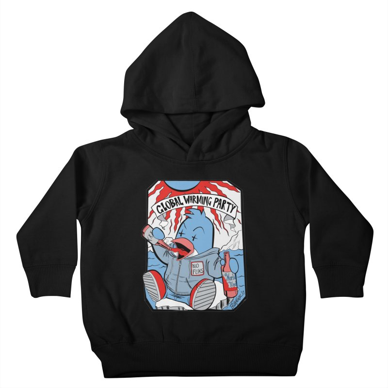 Global Warming Party Kids Toddler Pullover Hoody by Devil's Due Entertainment Depot
