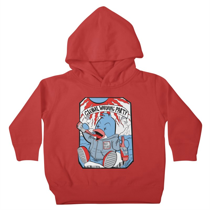Global Warming Party Kids Toddler Pullover Hoody by Devil's Due Comics
