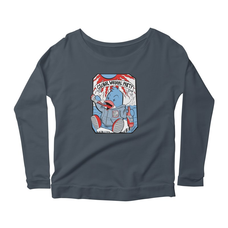 Global Warming Party Women's Longsleeve T-Shirt by Devil's Due Comics