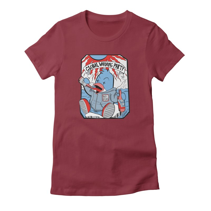 Global Warming Party Women's T-Shirt by Devil's Due Comics