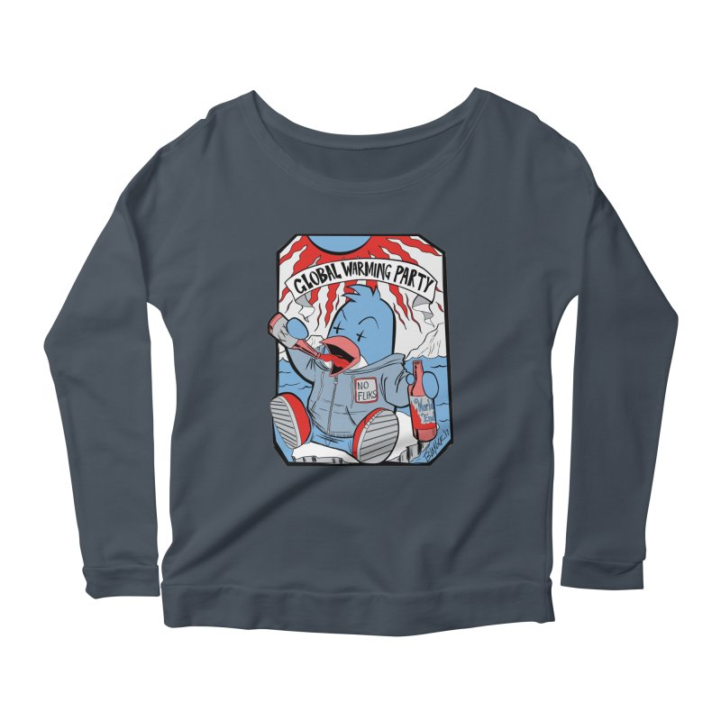 Global Warming Party Women's Longsleeve T-Shirt by Devil's Due Comics