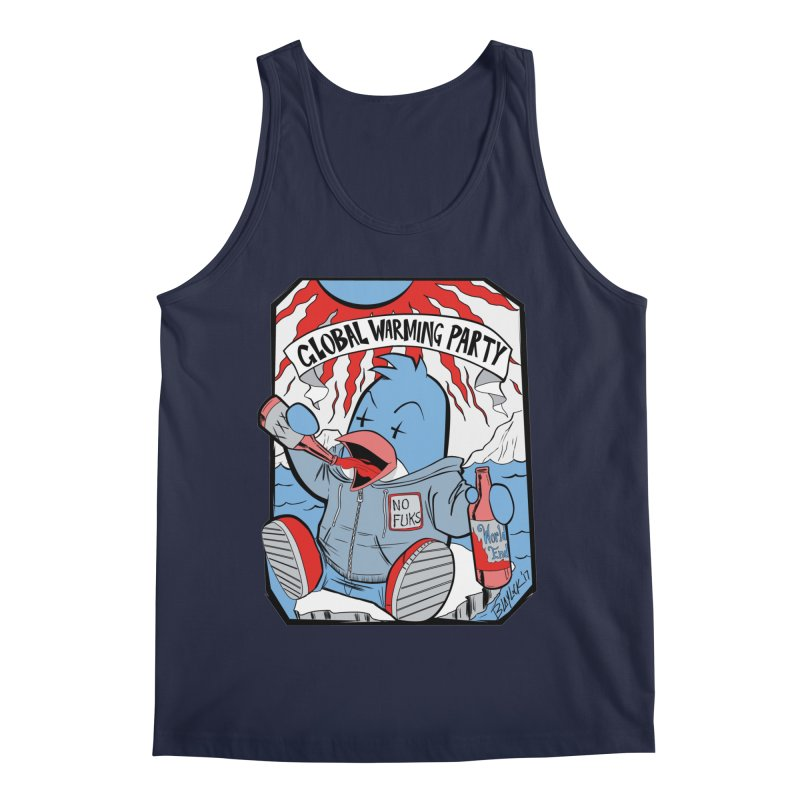Global Warming Party Men's Regular Tank by Devil's Due Comics