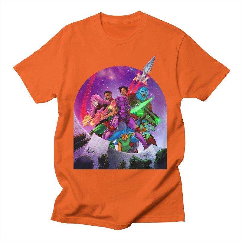 Galaxys for Hire Men's T-Shirt by Devil's Due Comics