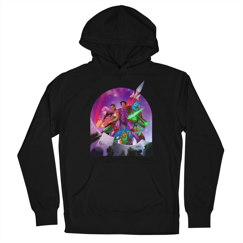 Galaxys for Hire Women's Pullover Hoody by Devil's Due Comics