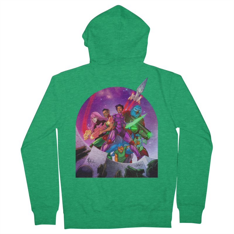 Galaxys for Hire Women's Zip-Up Hoody by Devil's Due Comics